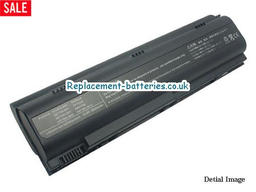 398752-001 Battery, 10.8V HP 398752-001 Battery 8800mAh