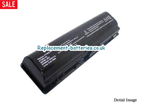 10.8V HP PAVILION DV2702TU Battery 5200mAh