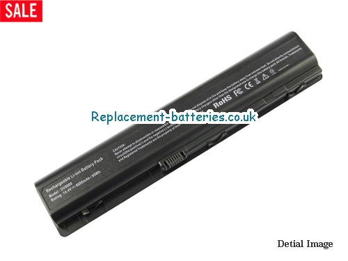 14.4V HP PAVILION DV9260NR Battery 6600mAh