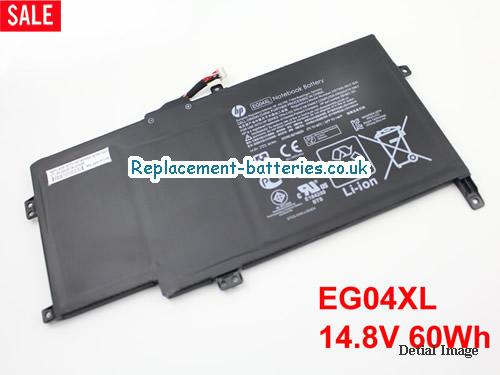 14.8V HP ENVY 6-1000SG Battery