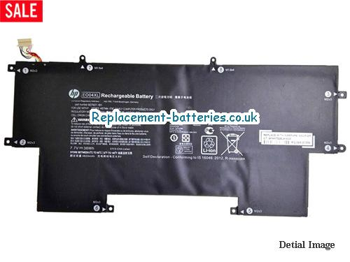 7.7V HP ELITEBOOK FOLIO G1 Battery 4900mAh, 38Wh