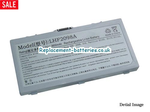 HP F2098A,F2098B,Omnibook 500,Pavilion ZU1155 Series Laptop Battery 6 Cell in United Kingdom and Ireland