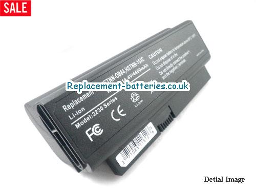 14.4V HP PRESARIO CQ20-222TU Battery 5200mAh, 63Wh