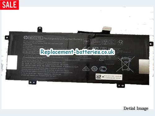 Genuine Hp MD02XL Battery L63999-421 Rechargeable Li-Polymer 40.61Wh in United Kingdom and Ireland