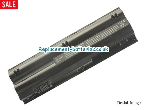 646757-001 Battery, 10.8V HP 646757-001 Battery 5200mAh