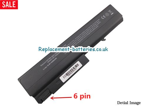 409357-002 Battery, 10.8V HP 409357-002 Battery 5200mAh