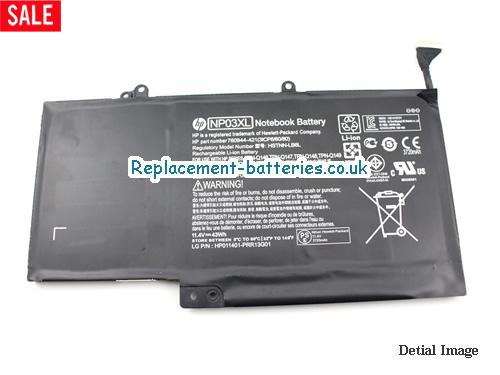 Genuine HP NP03XL HSTNN-LB6L battery for HP ENVY 15-U Series 760944-421 761230-005 Battery 11.1V 43Wh in United Kingdom and Ireland