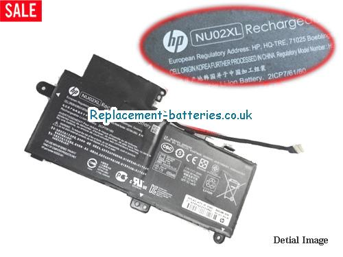 HP NU02XL HSTNN-UB6U Battery 843535-541 844200-850 in United Kingdom and Ireland