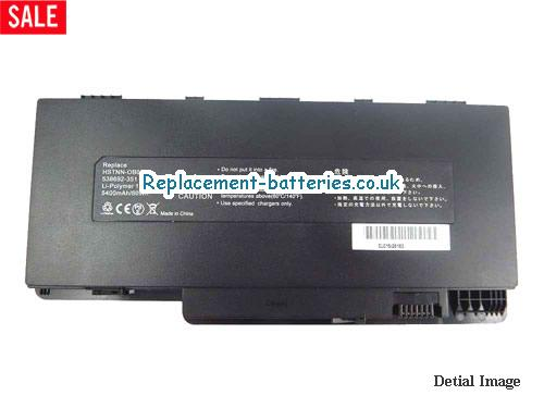 11.1V HP PAVILION DM3-1001TU Battery 5400mAh
