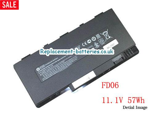11.1V HP PAVILION DM3-1001TU Battery 57Wh