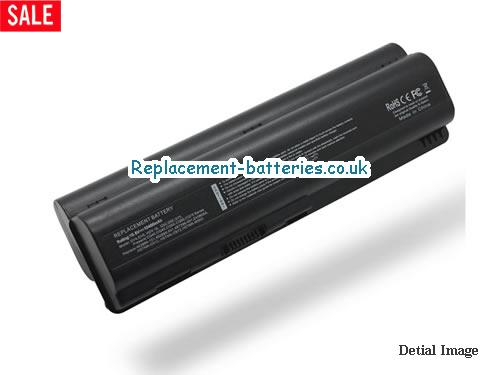 498482-001 Battery, 10.8V HP 498482-001 Battery 8800mAh