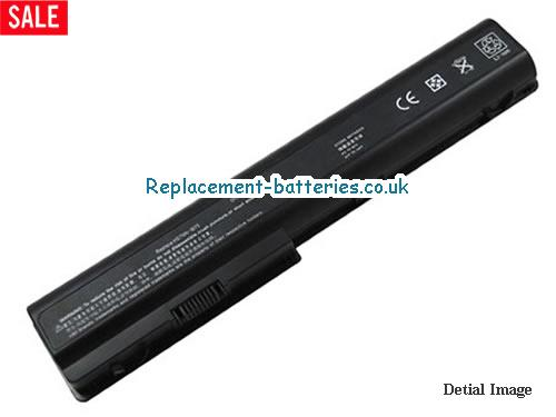 14.4V HP PAVILION DV7-1243CL Battery 5200mAh