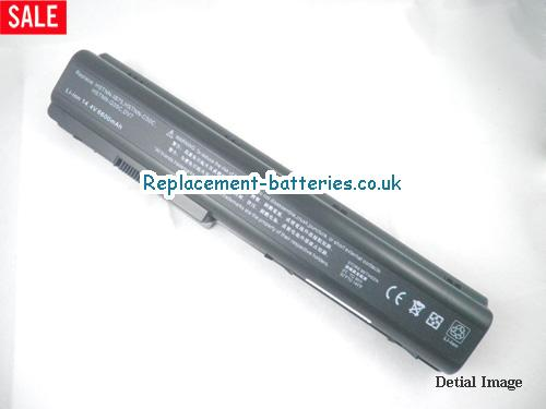14.4V HP PAVILION DV7-1243CL Battery 6600mAh