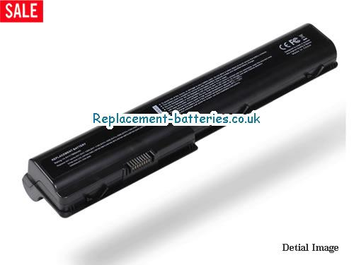 14.4V HP PAVILION DV7-1101TX Battery 7800mAh