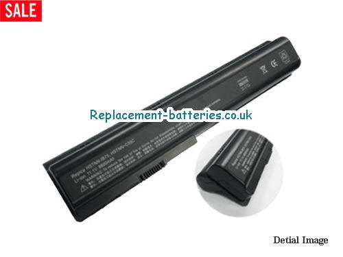 14.8V HP PAVILION DV7-1020 Battery 6600mAh