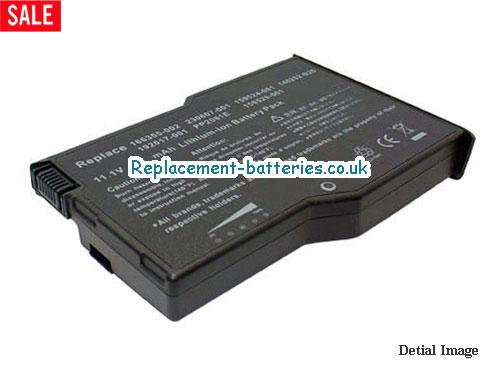 11.1V HP ARMADA E500-127668-004 Battery 7800mAh, 87Wh