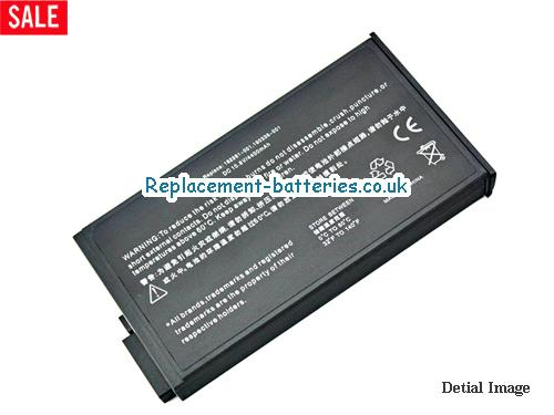 281766-001 Battery, 10.8V HP 281766-001 Battery 4400mAh