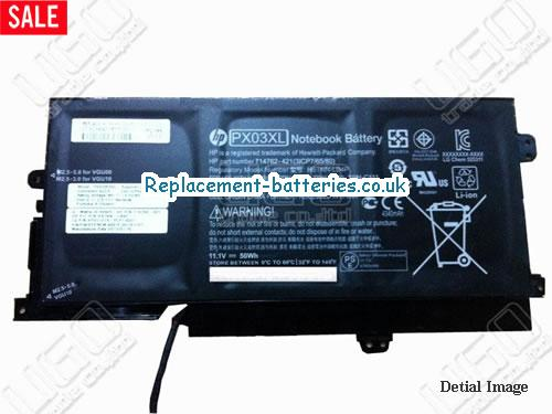 11.1V HP K002TX Battery