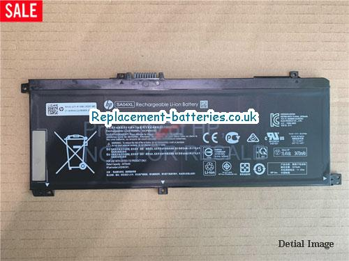 Genuine SA04XL Battery For Hp L43267-005 HSTNN-UB7U Li-Polymer 55.67Wh in United Kingdom and Ireland
