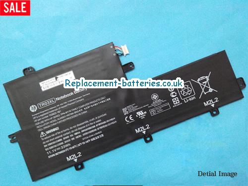 TR03XL Battery, 11.1V HP TR03XL Battery 33Wh