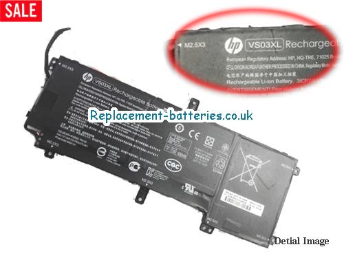 11.55V HP ENVY 15-AS104NA Battery 52Wh