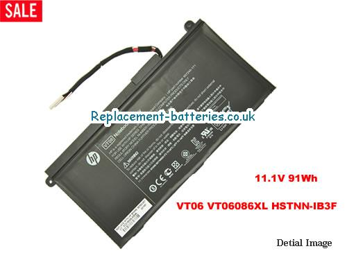 11.1V HP TPN-I103 Battery 91Wh