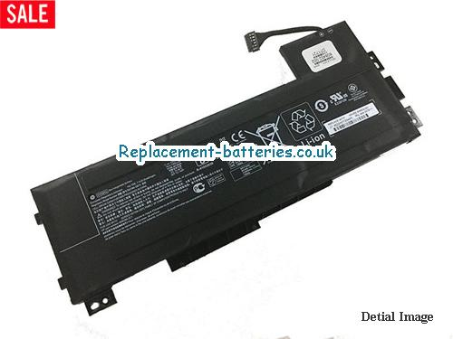 Genuine HP VV09XL Battery HSTNN-DB7D For ZBook 15 G3 in United Kingdom and Ireland
