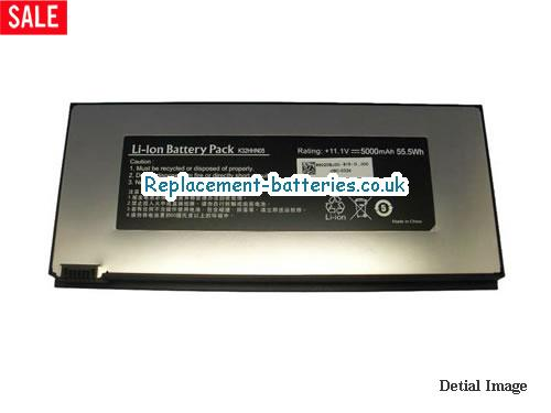HAIER K32HHN05 Battery, 5000mah, 55.5Wh, 6cells in United Kingdom and Ireland