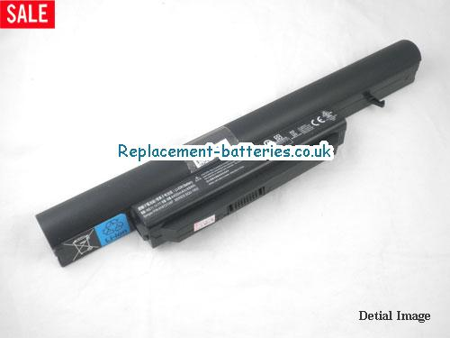 Gateway CQB913 SQU-1002 laptop battery 4400mah 6cells in United Kingdom and Ireland