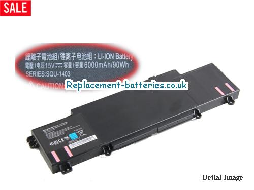 New Genuine SQU-1403 15V Battery For Hasee Thunderobot 911-E1 911-F1 Laptop in United Kingdom and Ireland