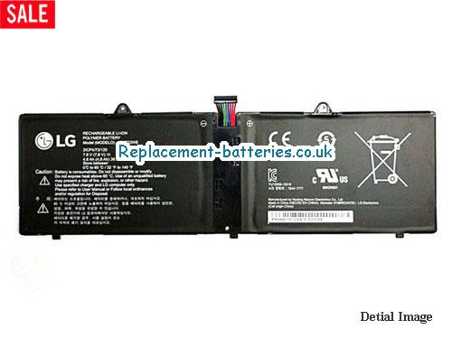 Genuine LG LBK722WE Battery Pack 7.6V 4.8Ah in United Kingdom and Ireland