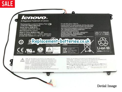 Genuine lenovo 31506605 Battery 3ICP5/56/120-2 in United Kingdom and Ireland