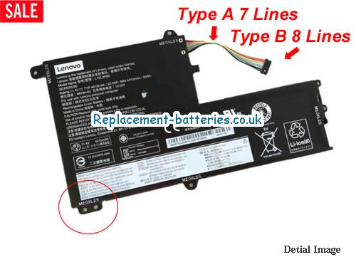 Genuine Lenovo L15M3PB0 Battery For FLEX4-1580 Series in United Kingdom and Ireland