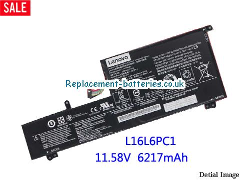 Lenovo L16L6PC1 Battery Rechargeable Li-Polymer 72wh 11.58V in United Kingdom and Ireland