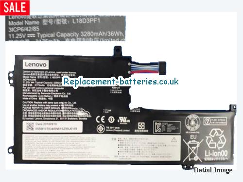 Genuine Lenovo L18D3PF1 Battery Rechargerable 5B10T03400 Li-Polymer 36Wh in United Kingdom and Ireland