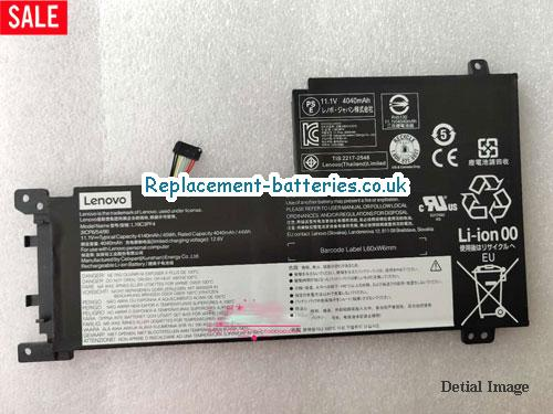 Genuine L19C3PF4 Battery For Lenovo Xiaoxin AIR15 45Wh 3ICP6/54/90 11.1v Li-ion in United Kingdom and Ireland
