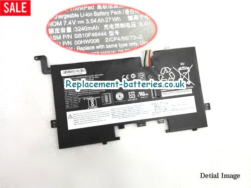 Genuine Lenovo SB10F46444 Laptop Battery in United Kingdom and Ireland