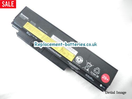 THINKPAD X220 SERIES Battery, 11.1V LENOVO THINKPAD X220 SERIES Battery 63Wh