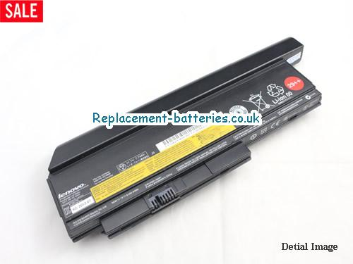 THINKPAD X220 SERIES Battery, 11.1V LENOVO THINKPAD X220 SERIES Battery 6600mAh