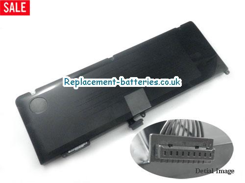 10.95V APPLE MACBOOK PRO A1286 Battery 5600mAh