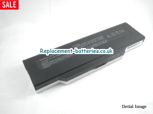 UK 6600mAh Long life laptop battery for Bullman A-Klasse 6 CEN,