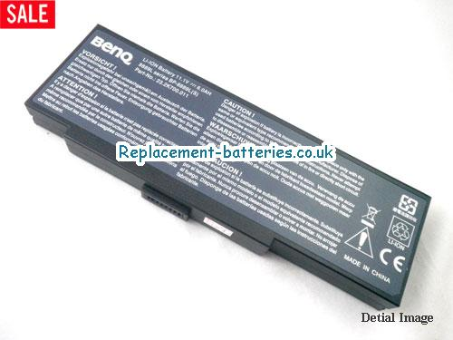 UK 6600mAh Long life laptop battery for Advent MiNote 8889 Series, MiNote 8389, MiNote 8089P, MiNote 8089,