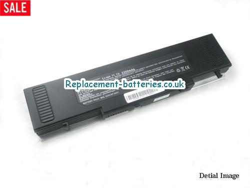 441680000034 Battery, 11.1V MITAC 441680000034 Battery 4400mAh