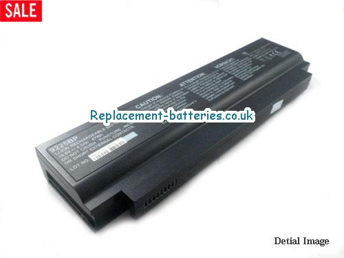 UK 47Wh Long life laptop battery for Hasee 9225BP, 9225,