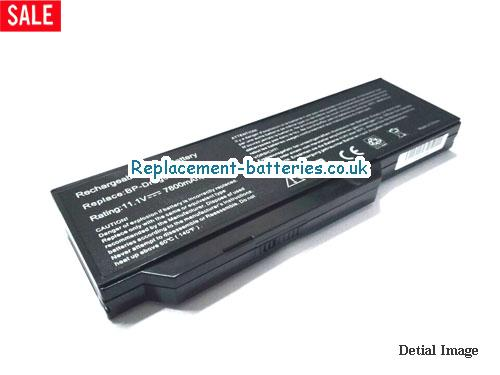 BP-DRAGON GT(S) Battery, 11.1V MEDION BP-DRAGON GT(S) Battery 7800mAh