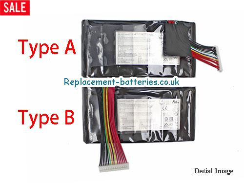 Genuine BTYL78 BTY-L78 Battery For MSI Laptop 75Wh in United Kingdom and Ireland