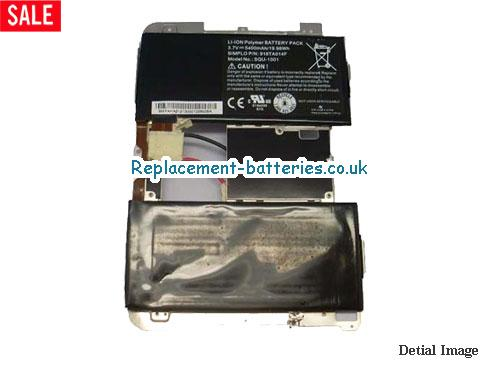 921600001 Battery, 3.7V BLACKBERRY 921600001 Battery 5400mAh