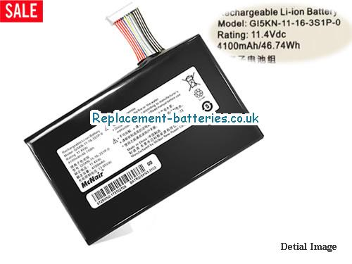 Genuine Shinelon GI5KN-11-16-3S1P-0 Battery For GE5S02 T50 581S1N in United Kingdom and Ireland