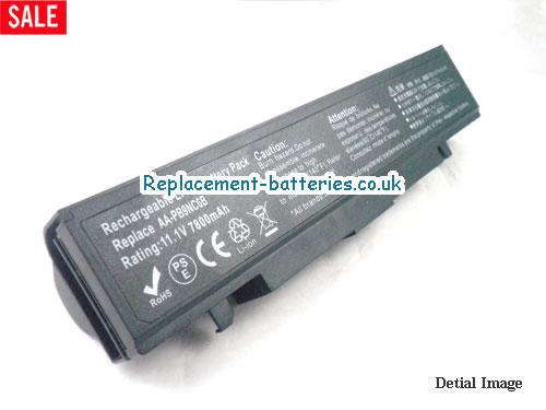 AA-PB9NS6W Battery, 11.1V SAMSUNG AA-PB9NS6W Battery 7800mAh
