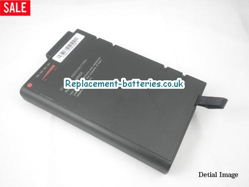 UK 6600mAh Long life laptop battery for Bsi NB8600,